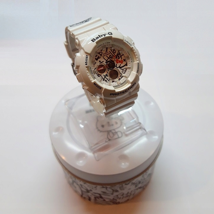 TM2 Zegarek Casio Baby-G BA120KT Hello Kitty!
