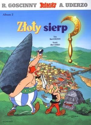 Asteriks. Album 02 Złoty sierp NOWE Kraków 24H