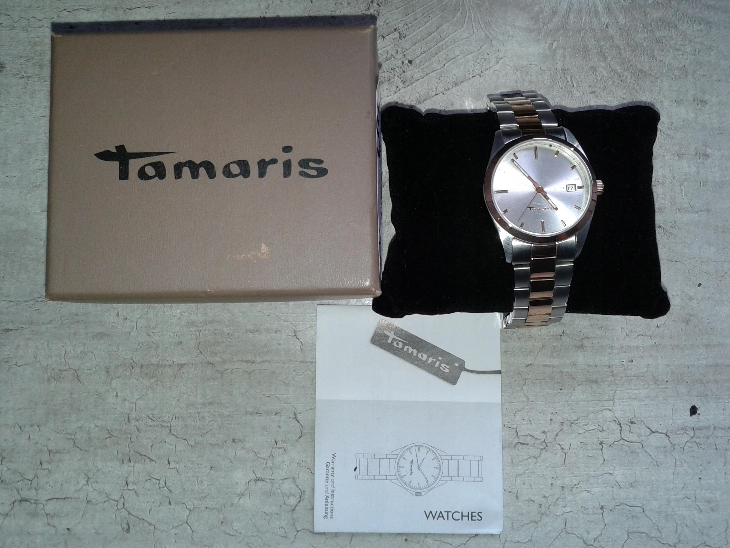 Zegarek Tamaris złoto różowe a'la 'Roleksio'