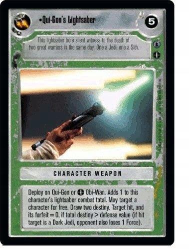 Qui-Gon's Lightsaber