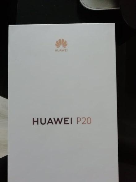 Nowy telefon Huawei P20 pink