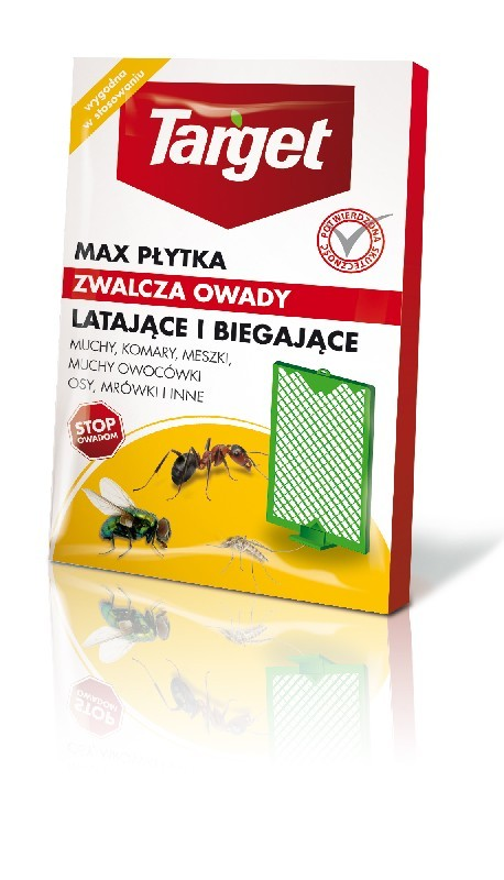 Płytka Max Komary, Muchy, Muszki Target