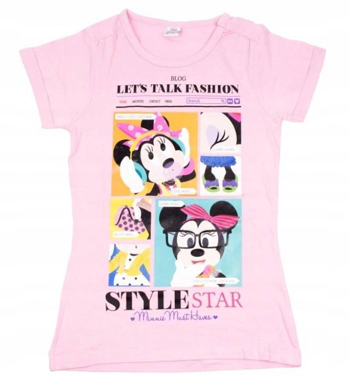 DISNEY MYSZKA MINNIE top koszulka t-shirt 134/140