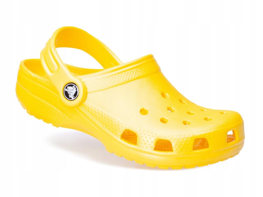 dziecięce klapki gumowe sandałki Crocs 10006-7C1