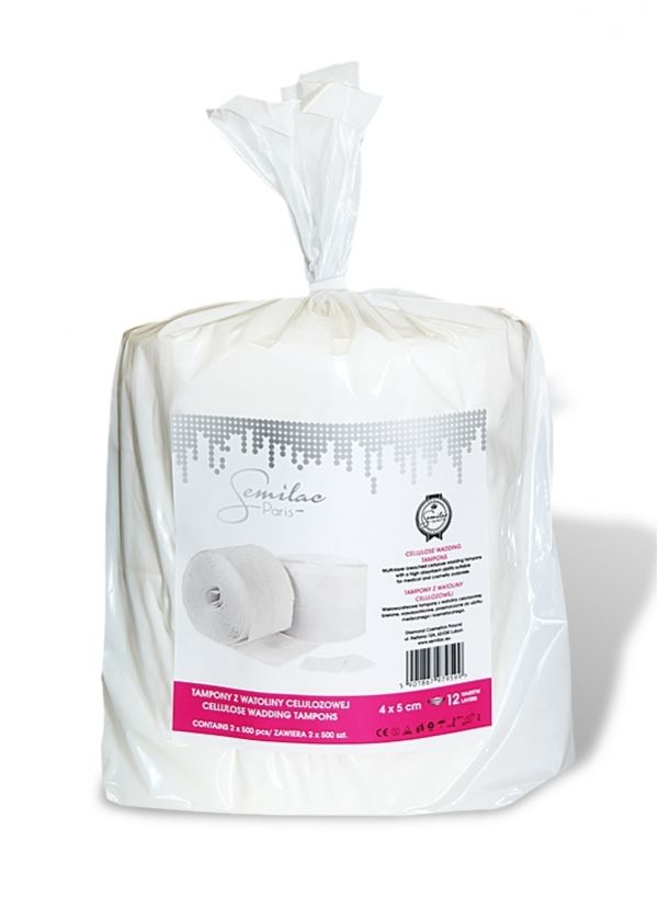 Semilac UV Hybrid Dust-Free Cotton Wipes waciki be