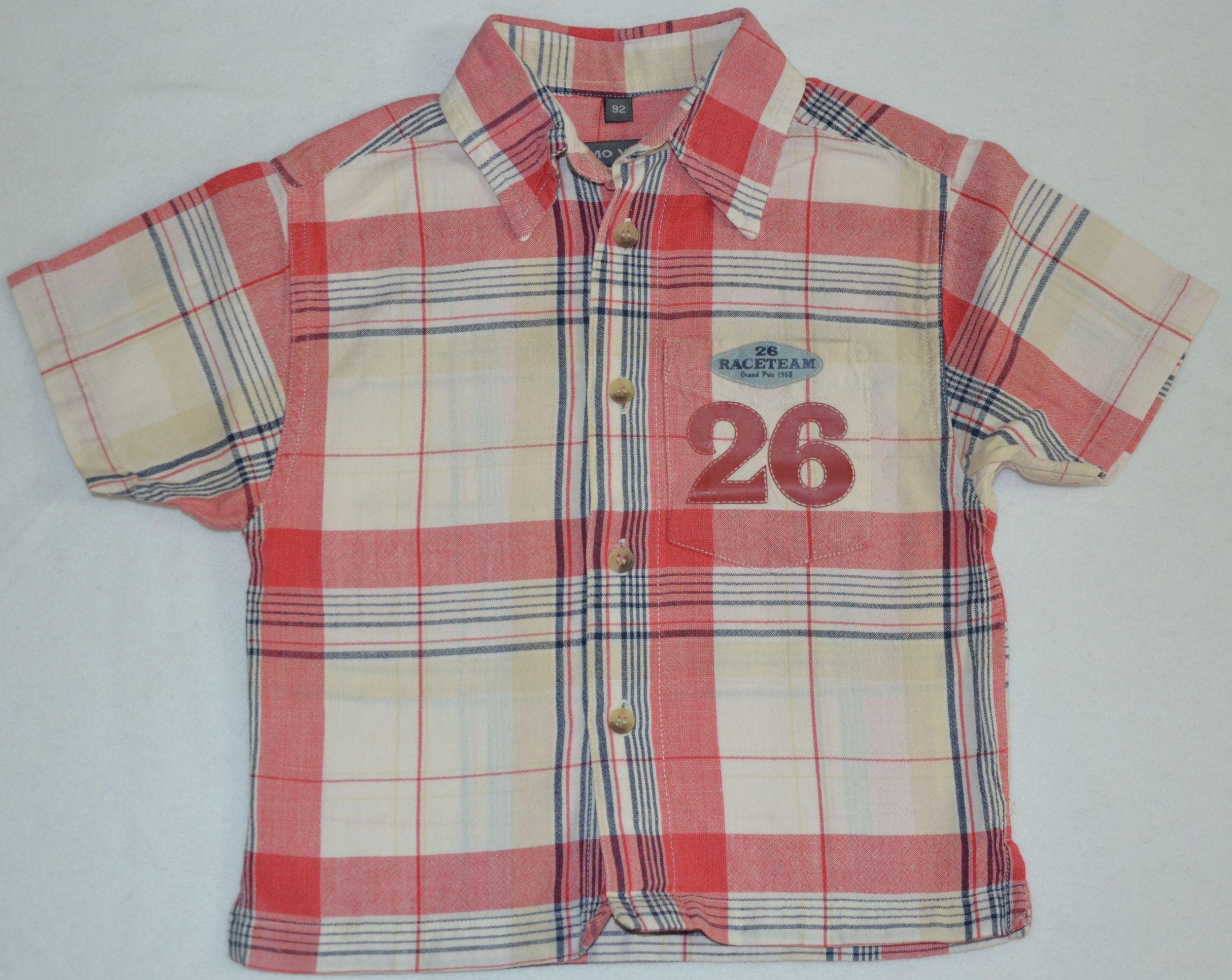 Koszula z krótkim rękawem, roz. 92