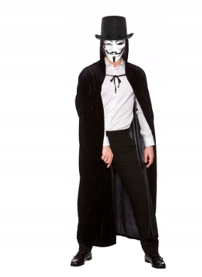 kostium Vendetta Anonymous Fawkes ACTA HALLOWEEN B
