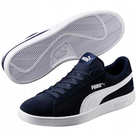 Puma buty sportowe Smash v2 szare 634989 17 45