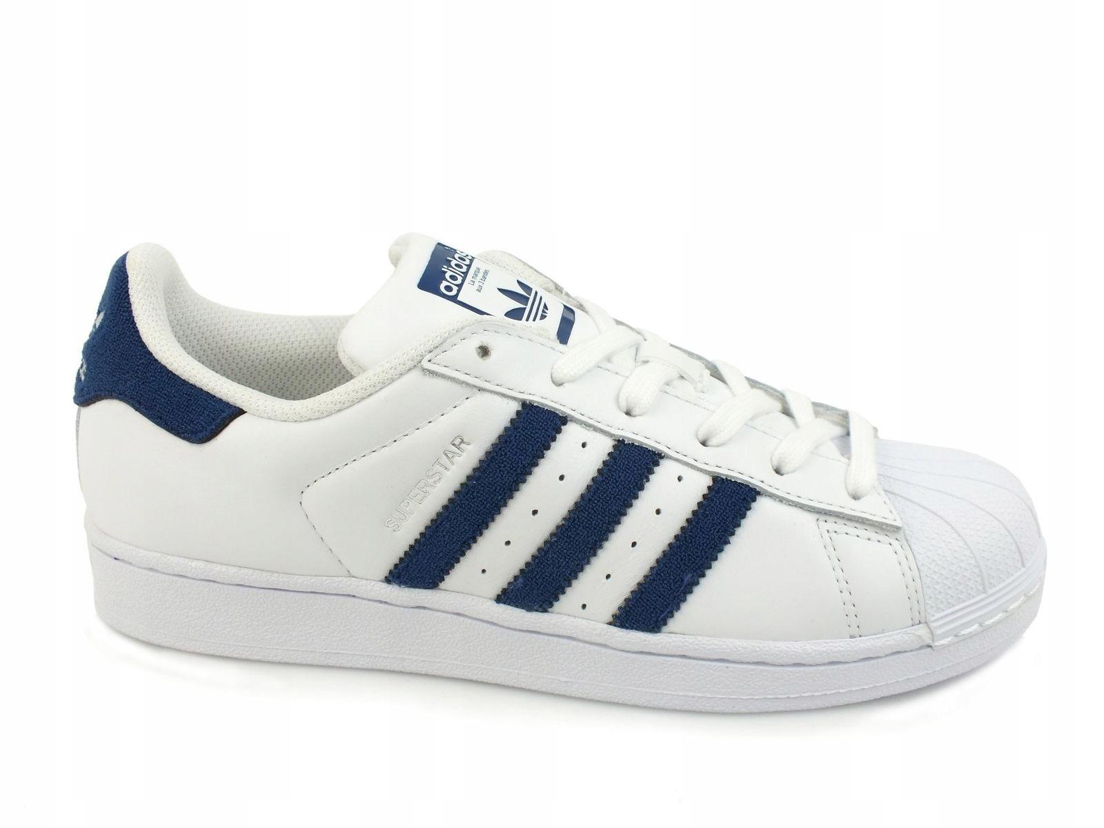 Buty Damskie Adidas SUPERSTAR BZ0190 Białe r. 40