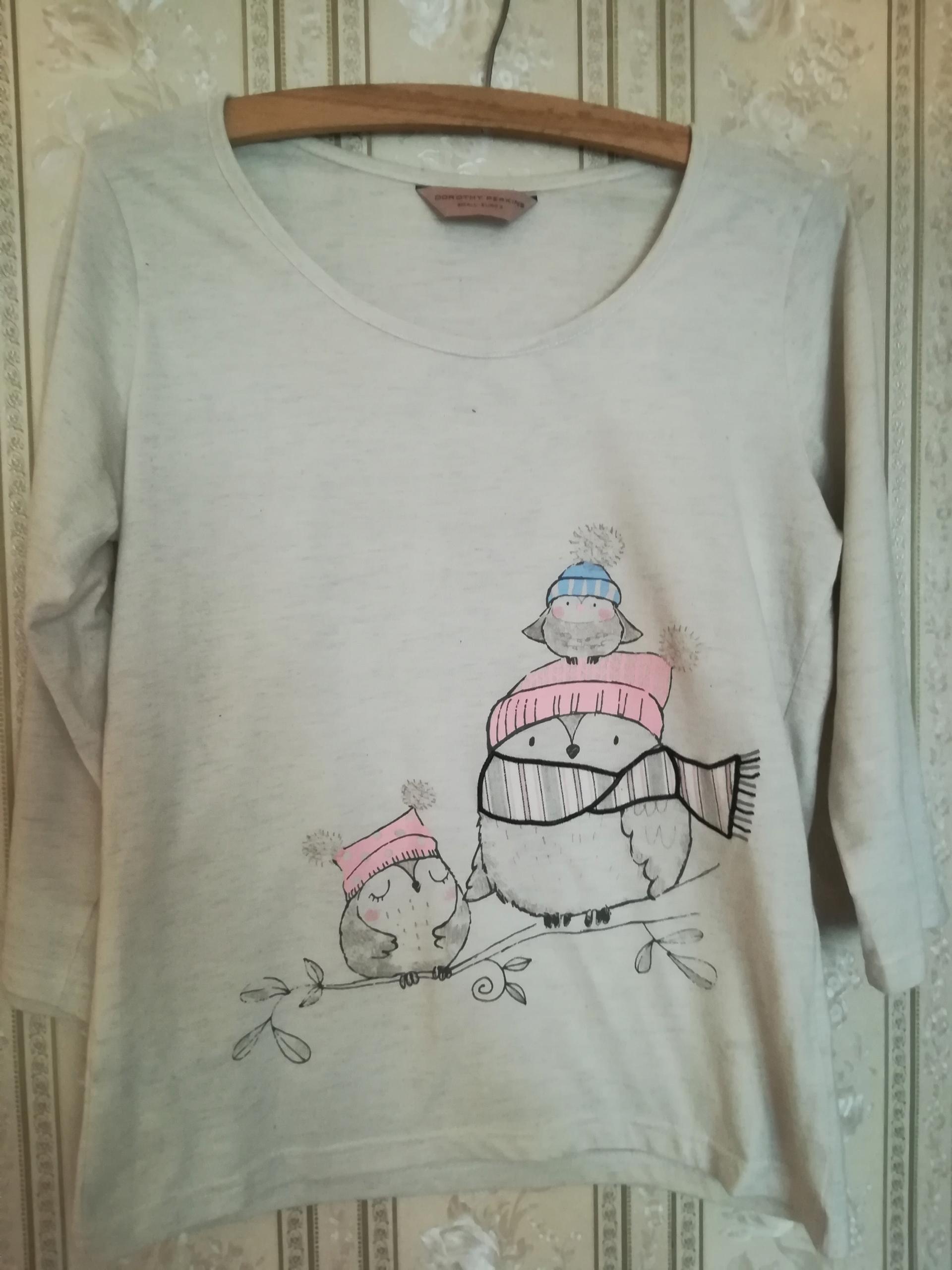 Dorothy Perkins bluzka piżama piżamka damska S 36