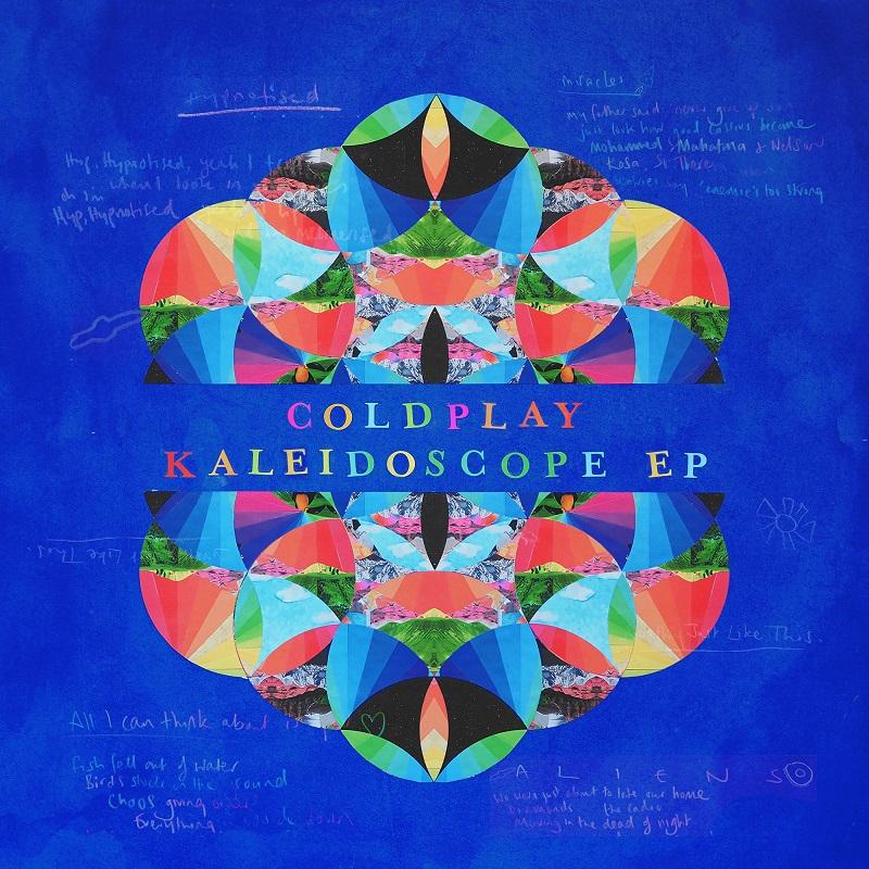 Coldplay Kaleidoscope (EP) płyta CD