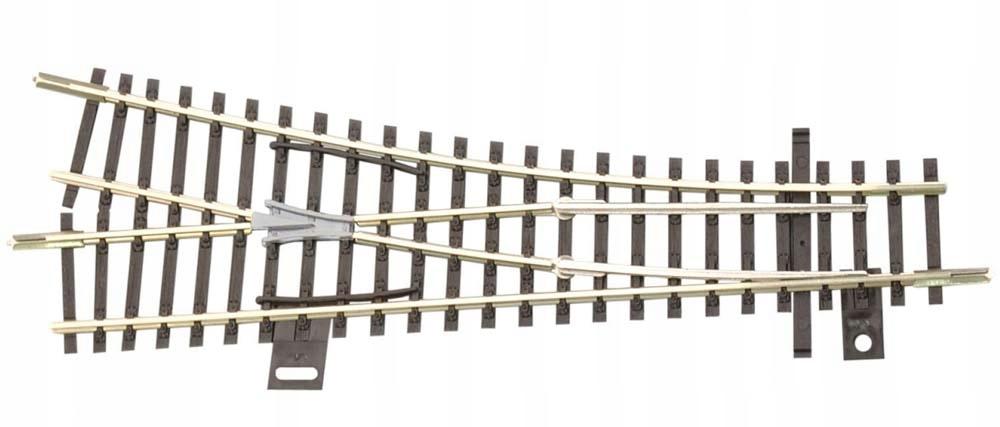 Rozjazd EW1 15 prawy, ręczny, skala TT, Tillig