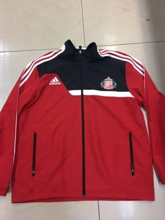 Kurtka Adidas sportowa czerwona XL 7652115953 oficjalne