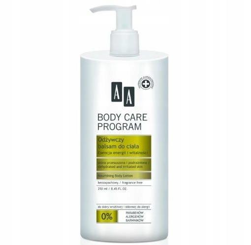 AA Body Care Program odżywczy balsam do ciała 250m