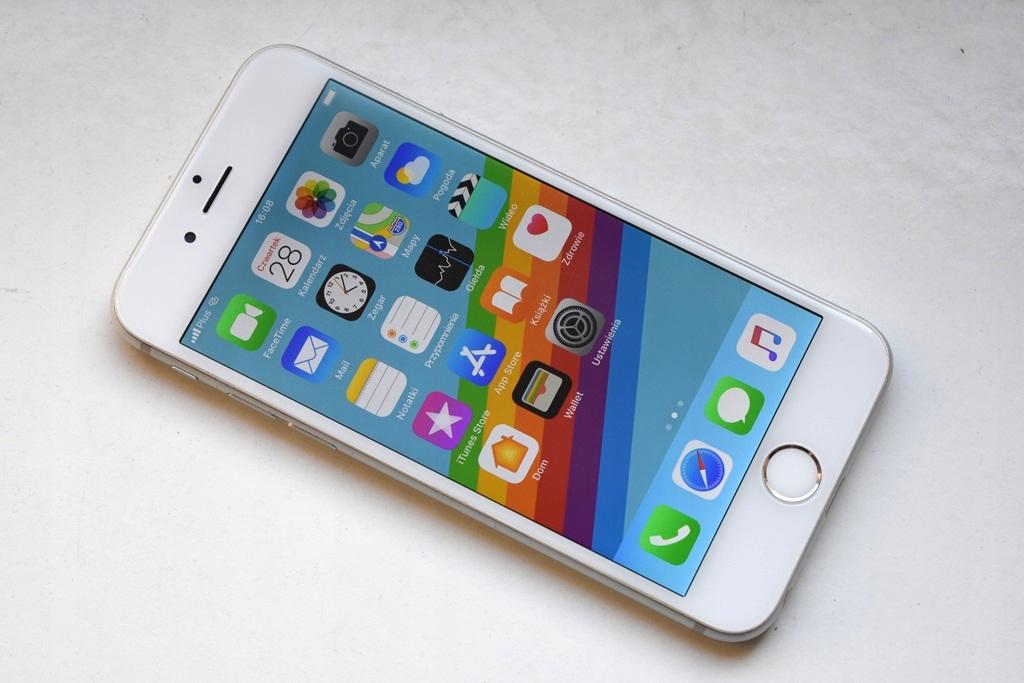 Apple iPhone 6 16GB Silver Bez Blokad Komplet!!!