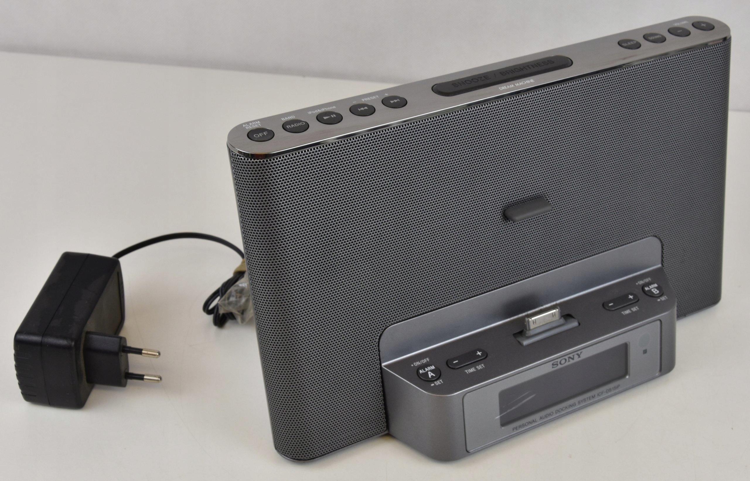 Stacja Dokująca Ipod Iphone Sony ICF-DS15iP