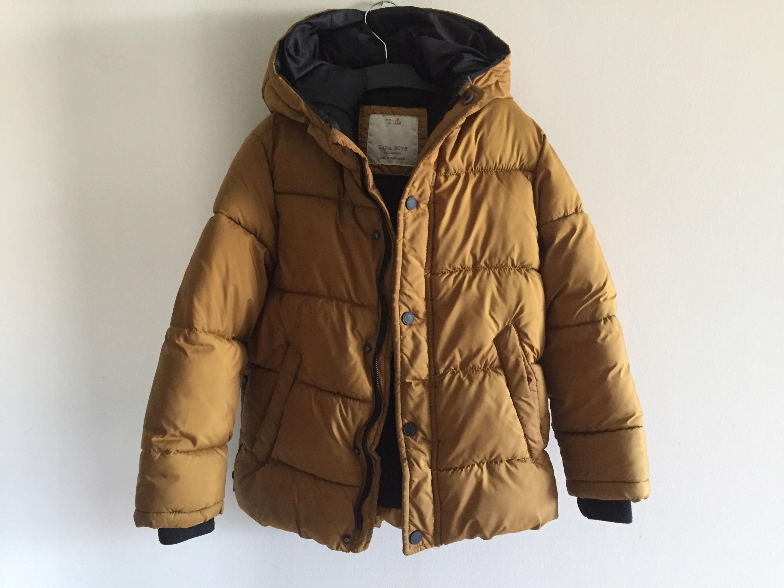 ZARA kurtka z kapturem polar rozm 116 128