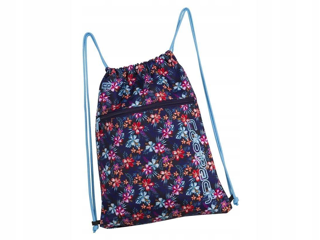 Worek plecak na sznurkach na wycieczki dziewczęcy