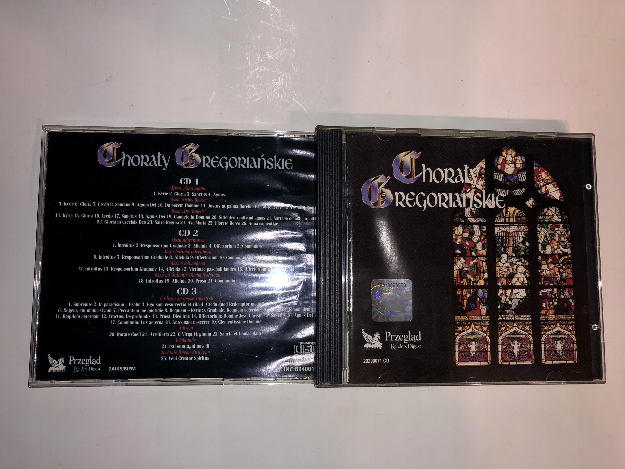 Chorały Gregoriańskie 3CD