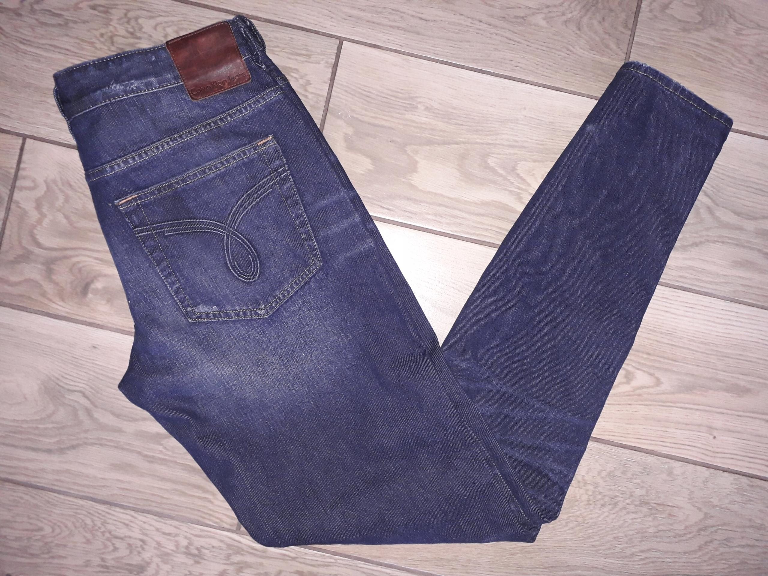 CALVIN KLEIN męskie spodnie jeans OKAZJA 31/34