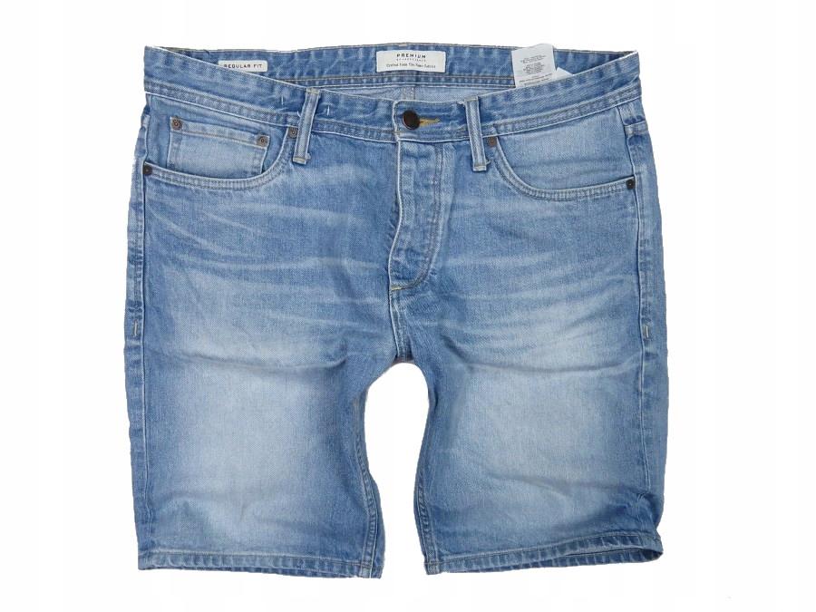 JACK JONES krótkie spodenki jeansowe męskie 94 XL