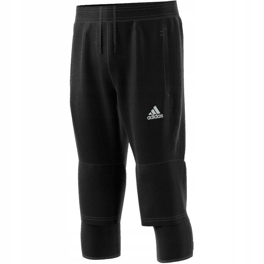 Spodnie adidas Tiro 17 3/4 Pant AY2881 CZARNY; 164