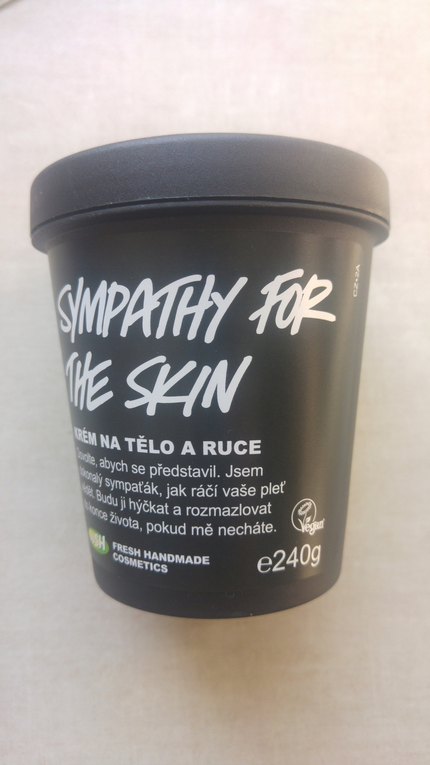 Sympathy For The Skin Lush body lotion 240g.