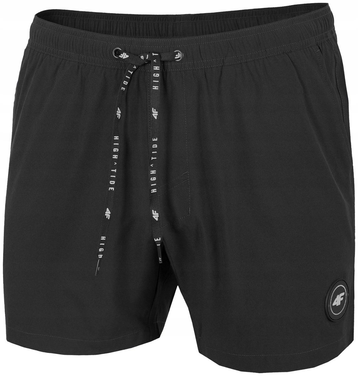 Męskie spodenki kąpielowe szorty 4F czarne XL