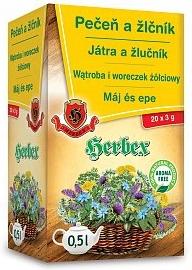 Herbata NA WĄTROBĘ I WORECZEK ŻÓŁCIOWY Herbex