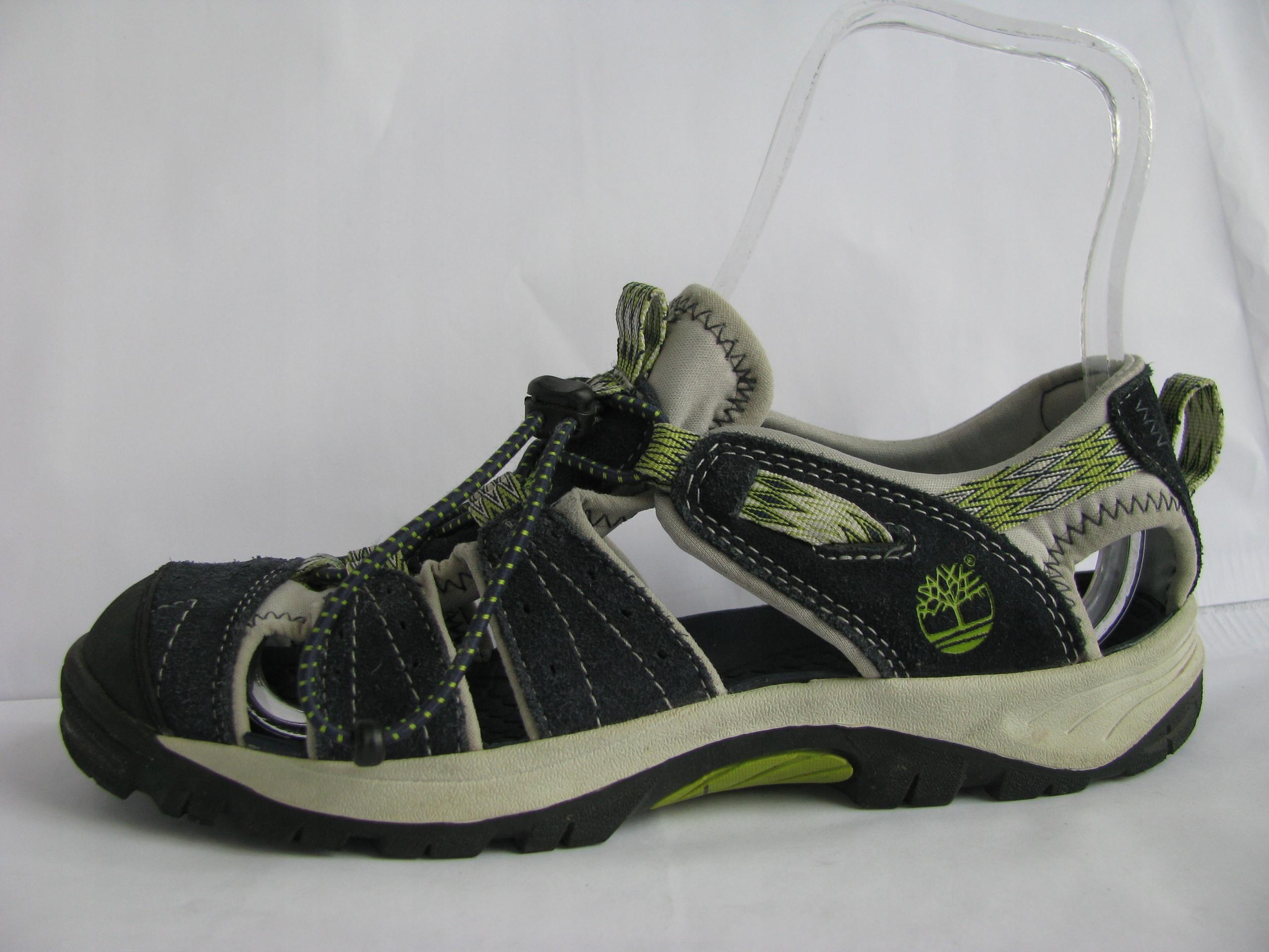 TIMBERLAND komfortowe sandały 37,5-38 (24cm) skóra