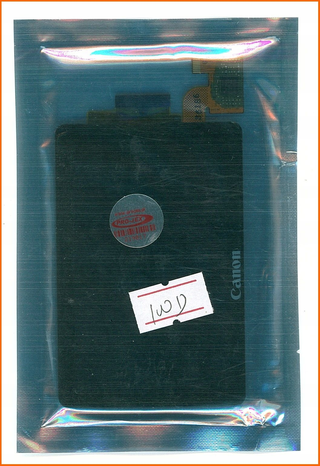 Canon EOS 100D LCD wyświetlacz