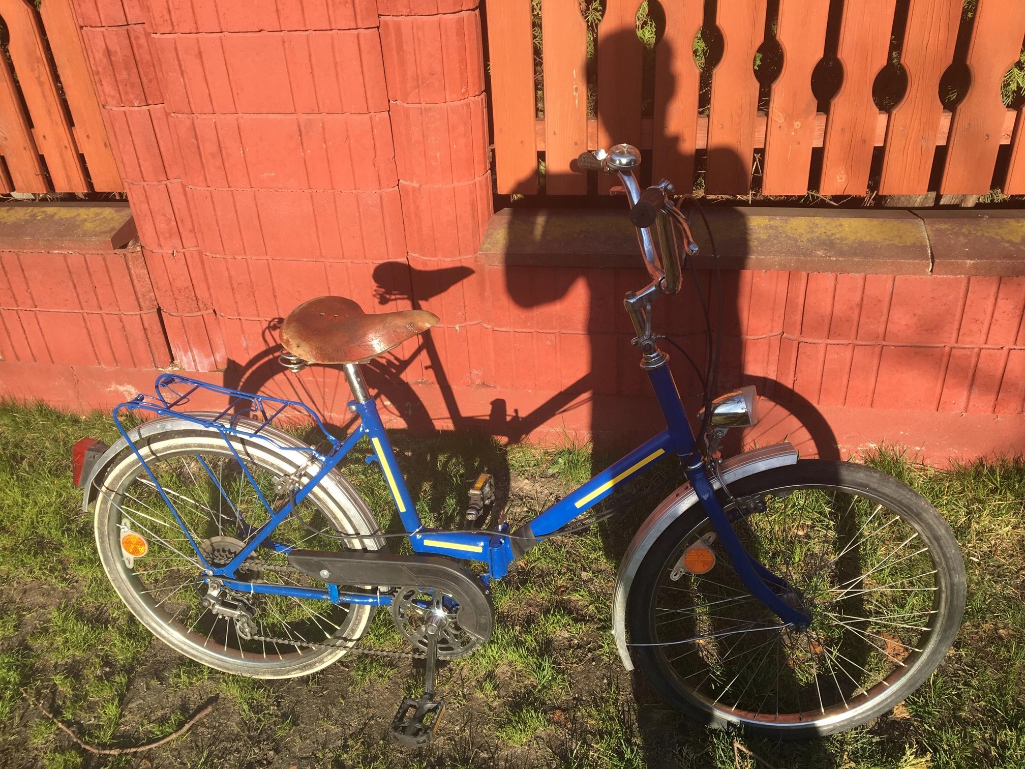 rower składak JUBULAT typ ZENIT Warszawa