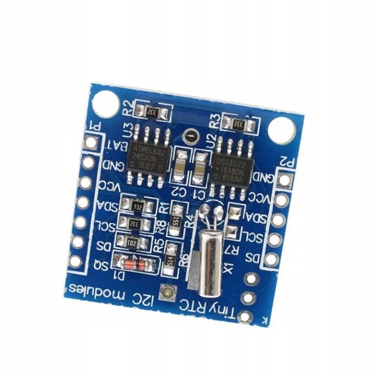 Moduł czasu rzeczywistego RTC DS1307 do Arduino