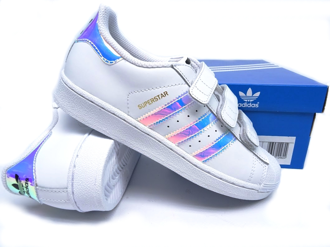 hot sale online 46591 1148f Buty ADIDAS SUPERSTAR hologram r.(28) AQ6279 - 7436022453 ...