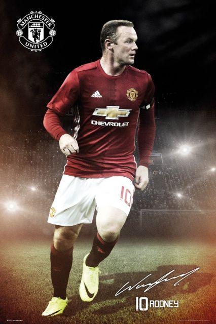 Manchester United Wayne Rooney ~ plakat