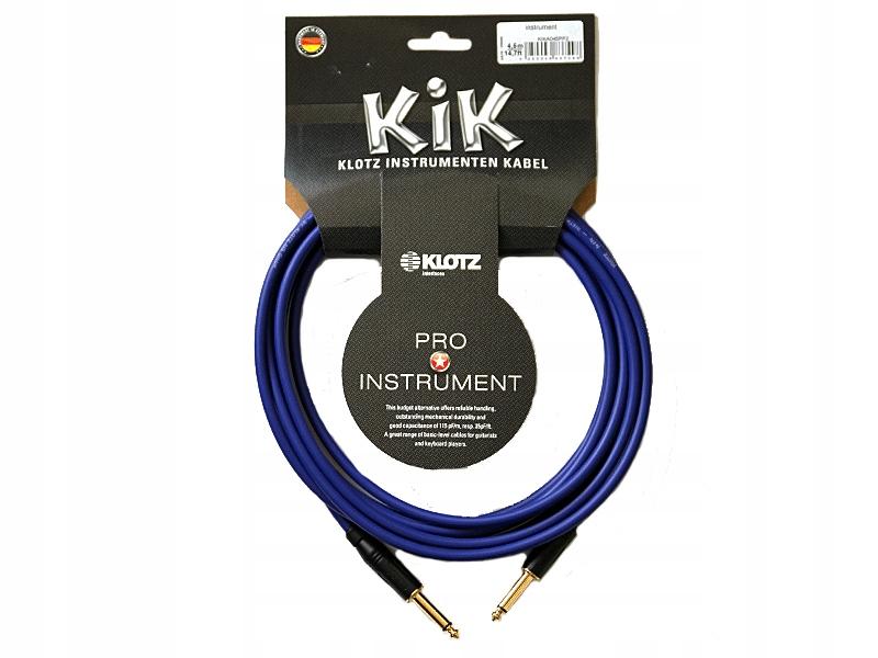 Kabel instrumentalny KLOTZ KIKA06PP2 (6,0m )