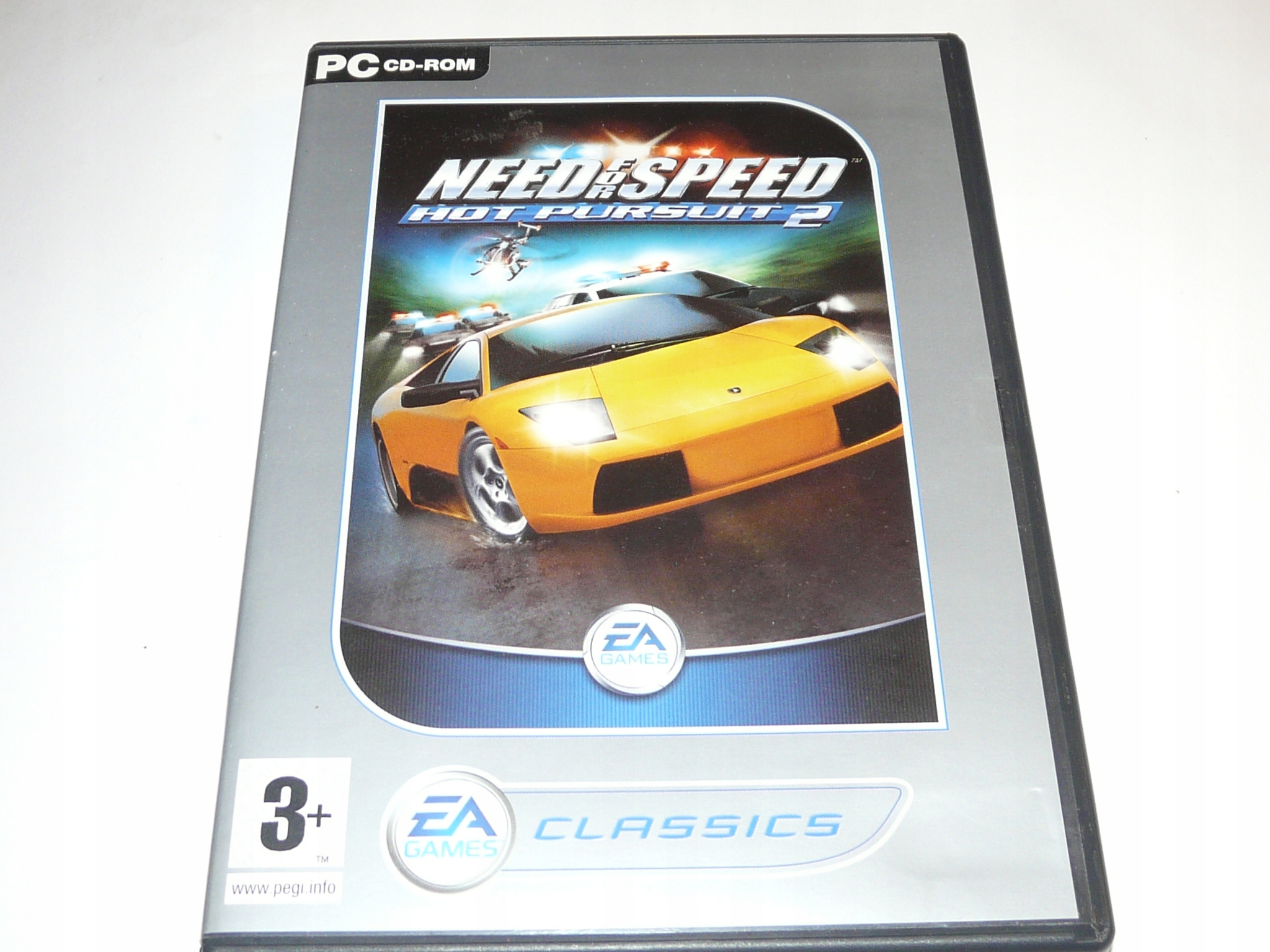 Gra PC Need for Speed Hot Pursuit2 FERRARI PORSCHE