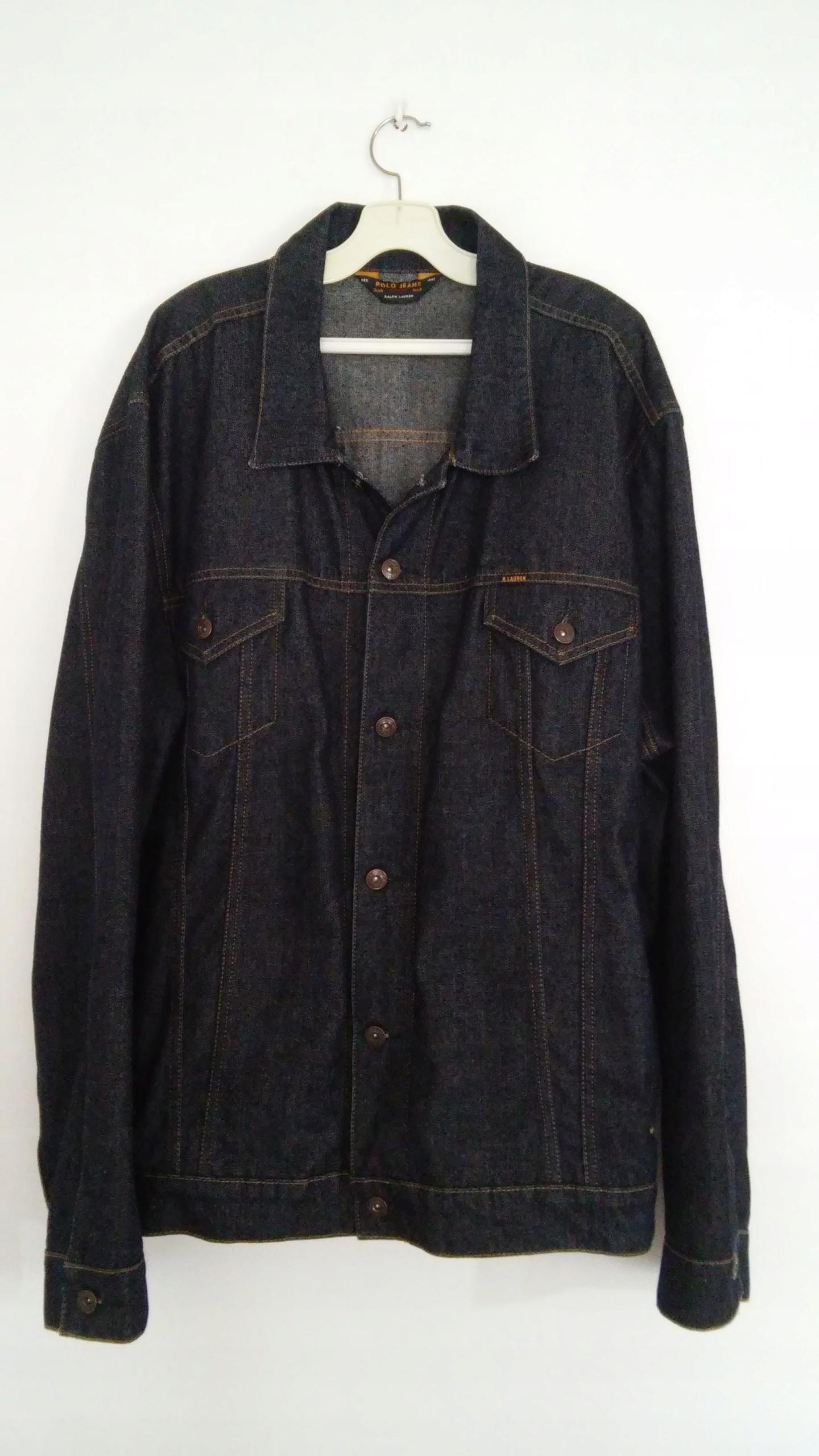 Ralph Lauren - kurtka jeansowa, katana - jak NOWA