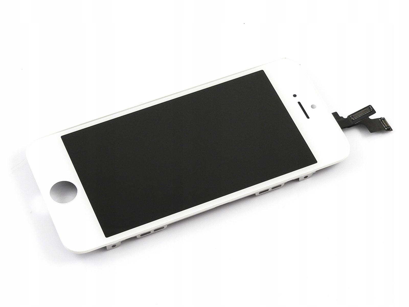 WYŚWIETLACZ LCD SZYBKA RAMKA IPHONE 5S SE WYMIANA