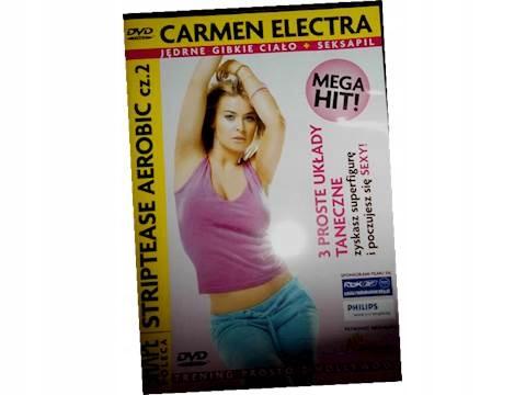 Striptease Aerobic cz 2 Carmen Electra - DVD
