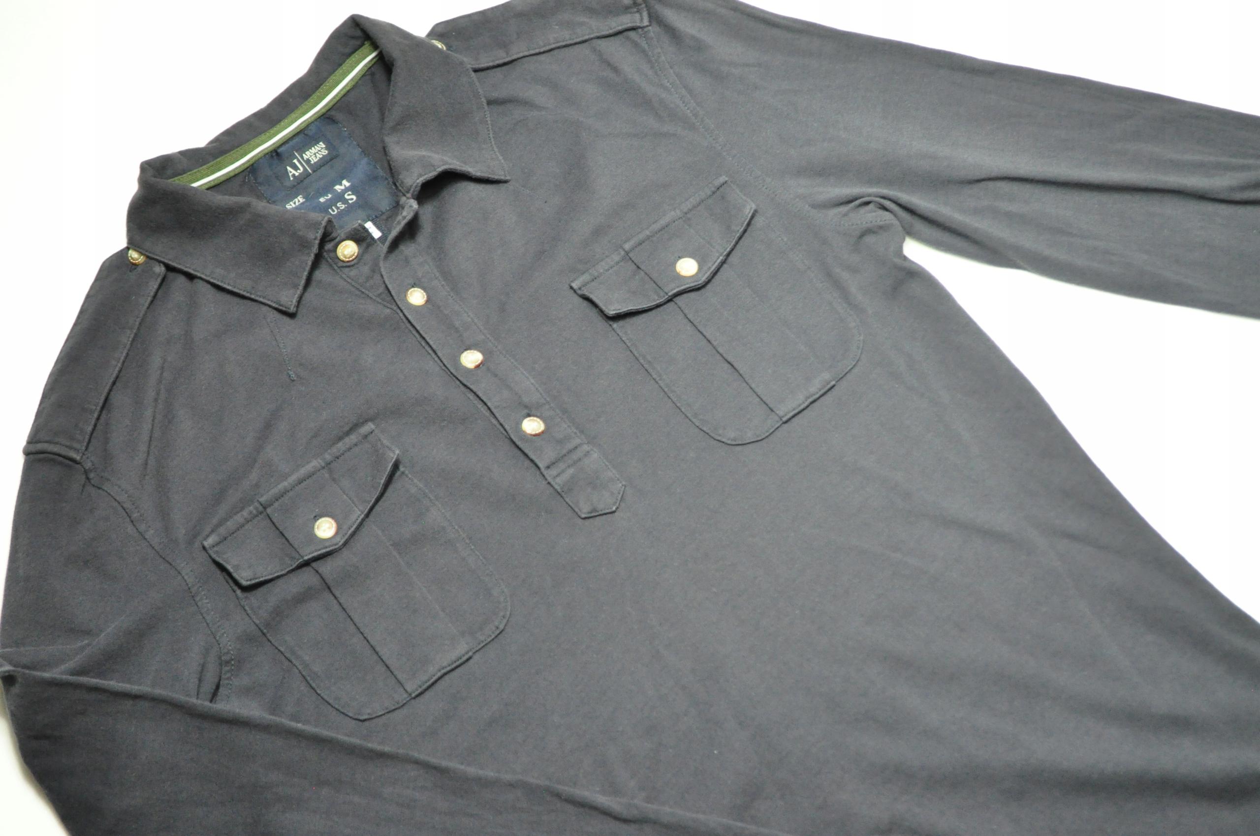 ATT koszulka polo Armani Jeans z długim rękawem S