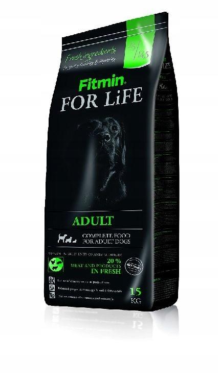 FITMIN FOR LIFE ADULT 15kg +3kg GRATIS