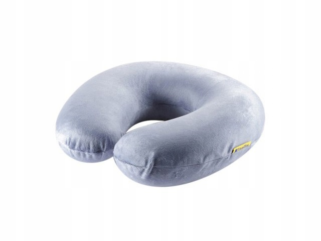 Memory Foam Travel Neck Pillow - Blue