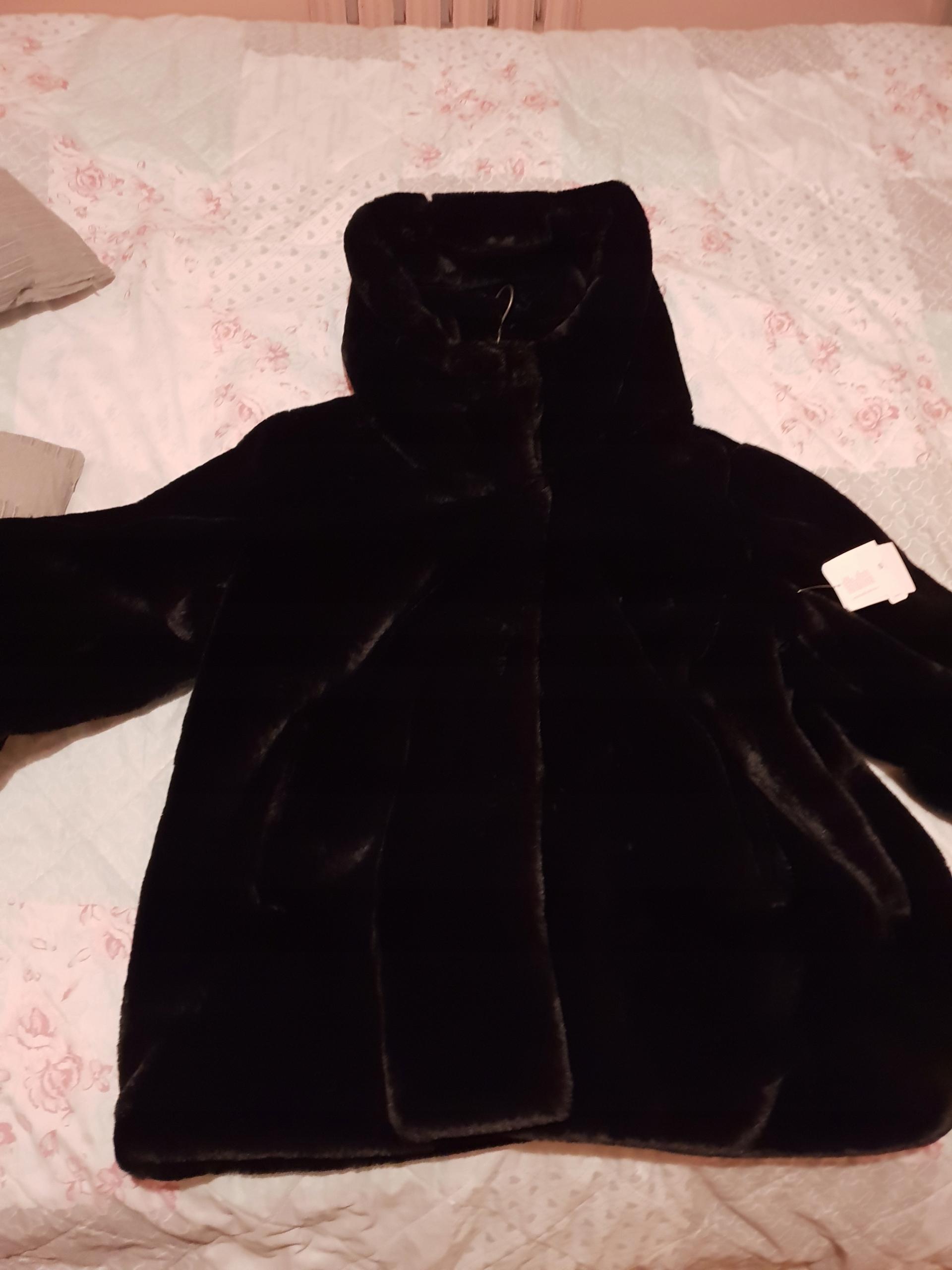 kurtka futerko sztuczne nowe r.48 C&A