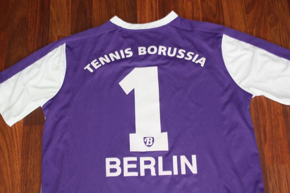 ~ TENNIS BORUSSIA BERLIN ~ UMBRO ~ # 1 KOSZULKA XL