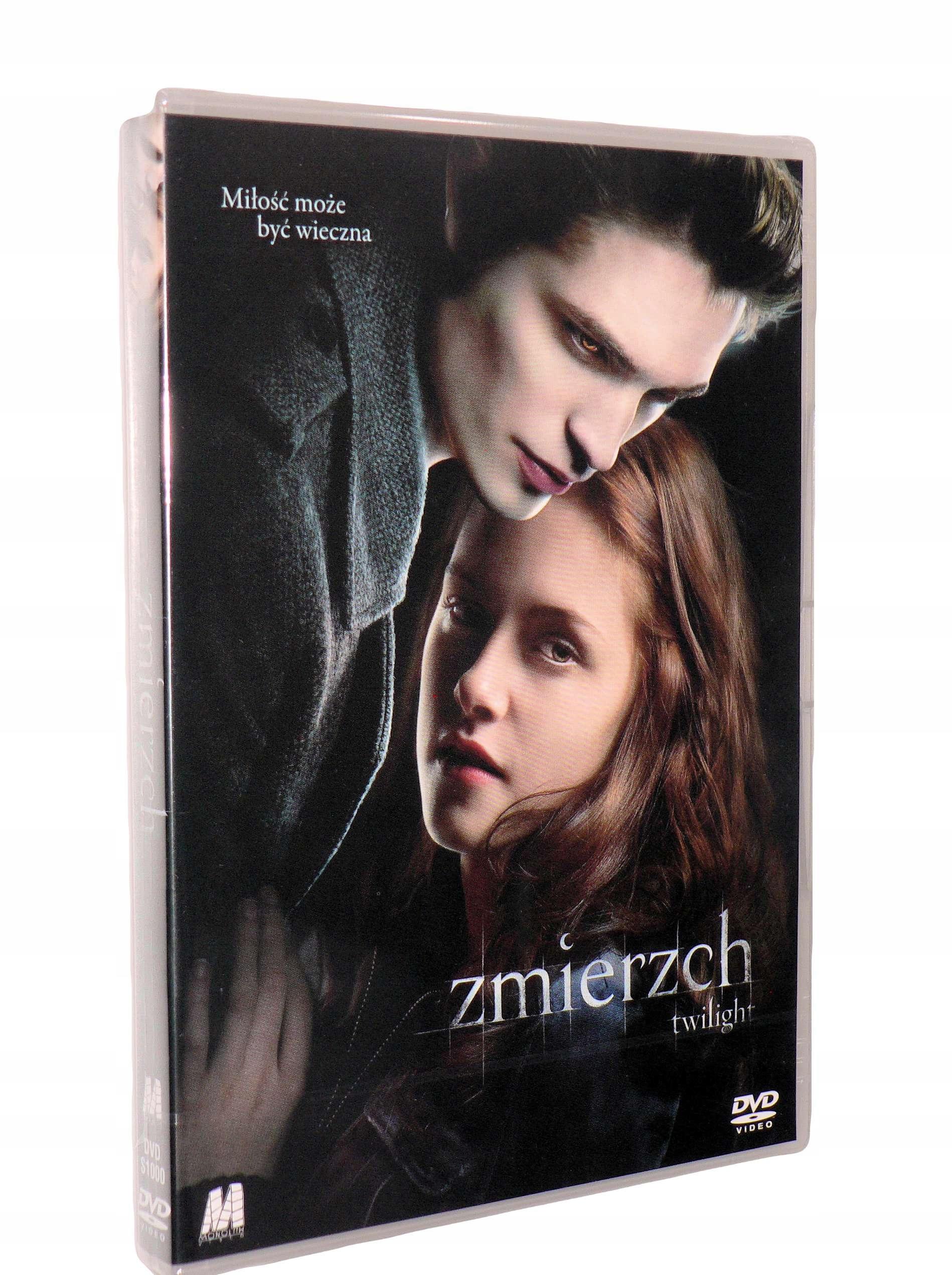 DVD - ZMIERZCH(2008)- K.Stewart, nowa folia lektor