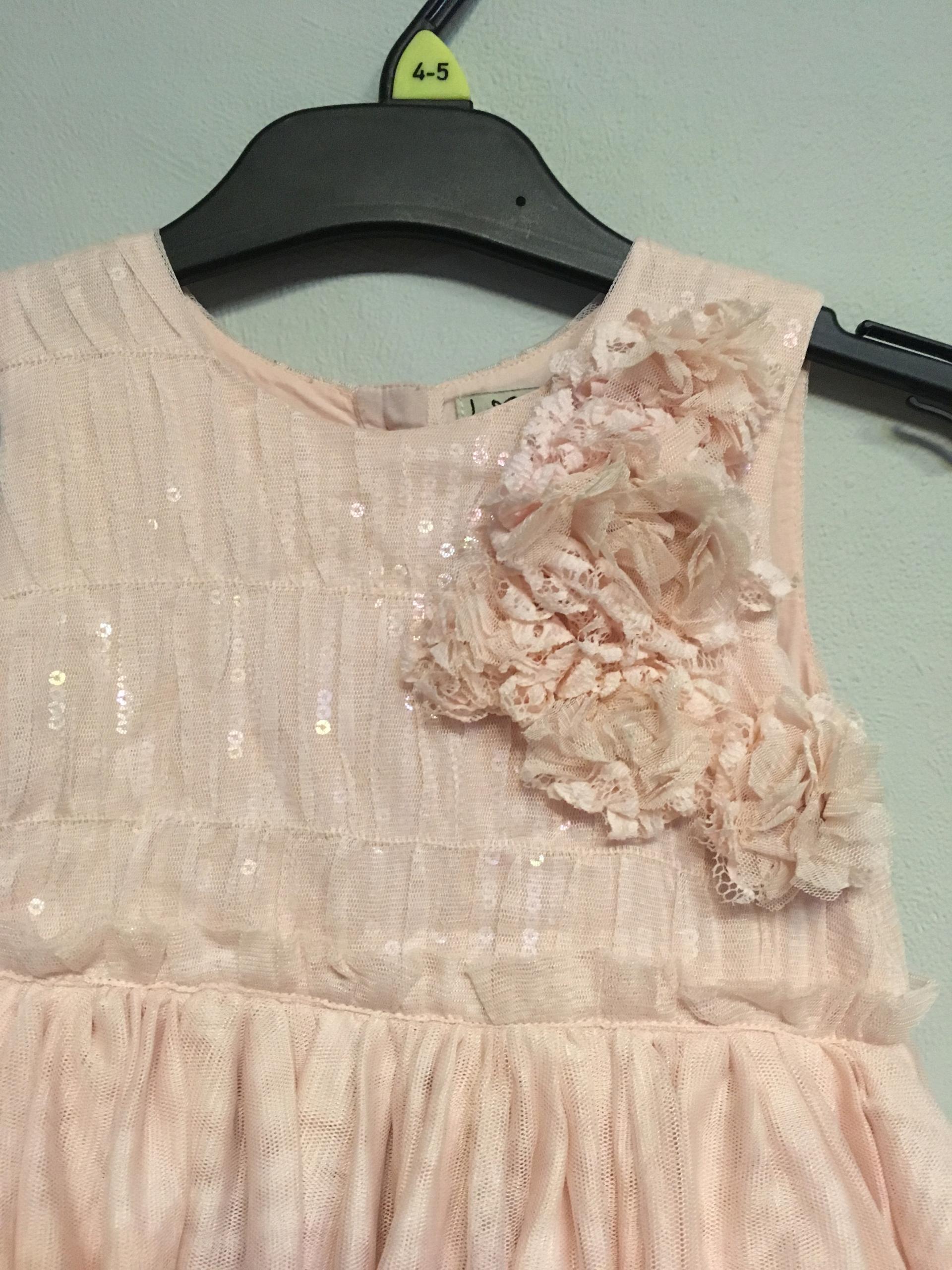Next sukienka pudrowy róż J. Zara 92