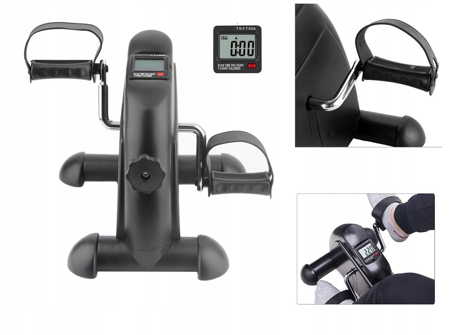 Rower Treningowy Stacjonarny Kompaktowy Sport