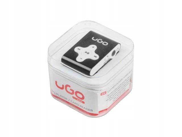 UGO Odtwarzacz MP3 czarny