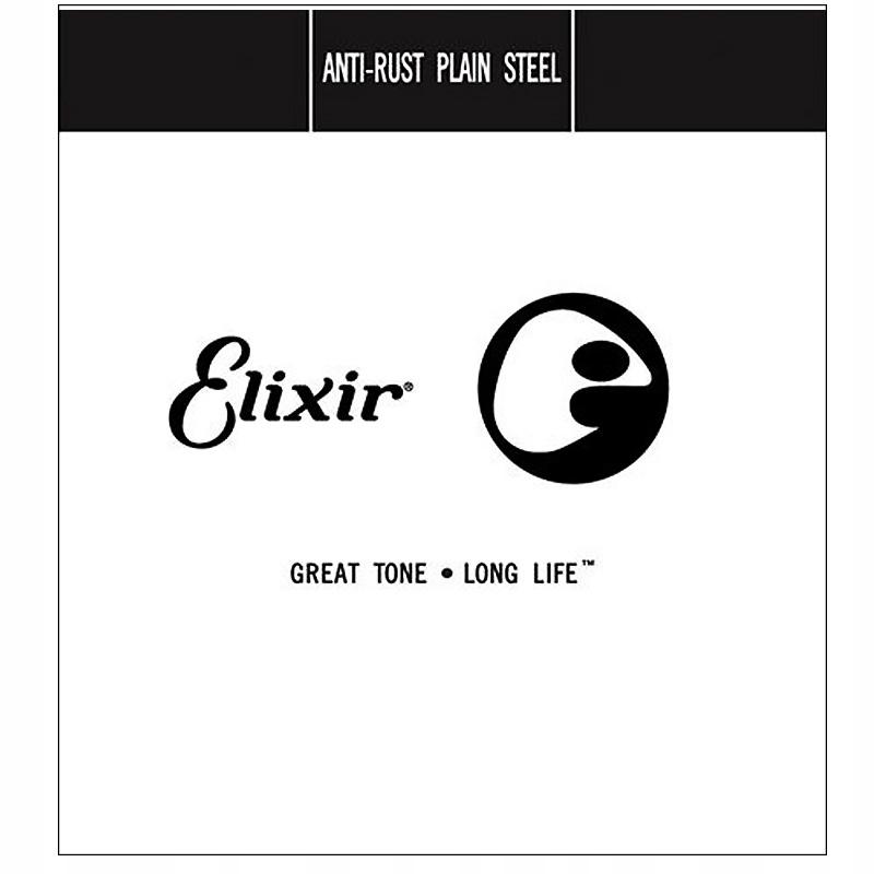 Pojedyncza Struna - E1 - Elixir 010p Plain Steels